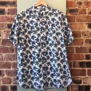Surfside Supply Tropical Button Down Short Sleeve